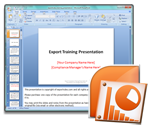 Sample Export Training Presentation